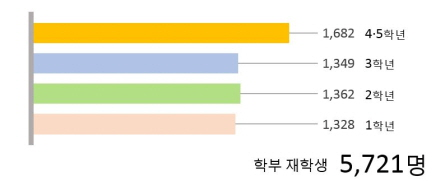 학부재학생 그래프